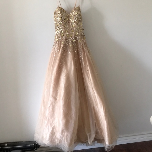 Camille La Vie Dresses | Beaded Ball Gown | Poshmark